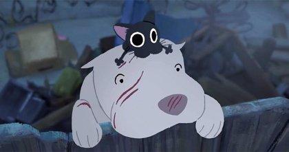 Kitbull: El corto animado de Pixar que cuenta la entrañable amistad de un gato callejero y un Pitbull maltratado