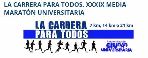 La media maratón universitaria de Madrid dará visibilidad a los más de 15.000 ni