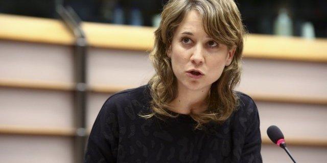 La eurodiputada de IU Marina Albiol, en una imagen de archivo