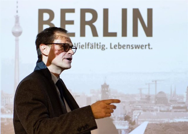 Berlin Mayor annual press conference in Berlin