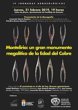 Cartel de la jornada en torno a Montelirio
