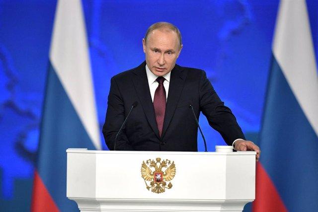 Putin en el seu discurs anual davant el Parlament rus