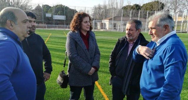 La dotación deportiva San Martín de Porres ya cuenta con césped artificial