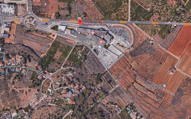 Hallan restos óseos humanos en las inmediaciones del Hospital de La Ribera