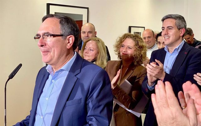 José Manuel Cruz Viadero, alcalde de Torrelavega y candidato del PSOE a la Alcal