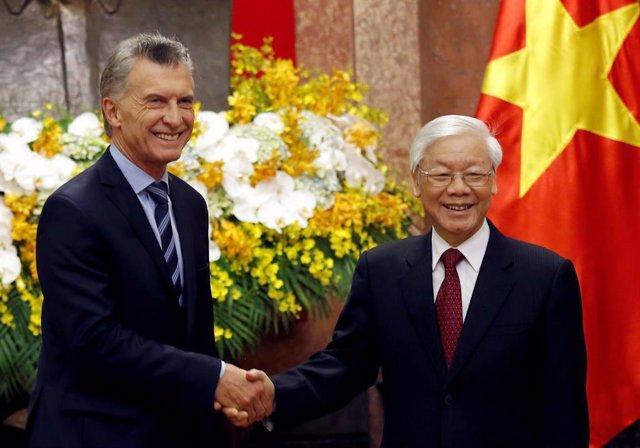 """Macri en Vietnam: """"queremos llegar lo antes posible a que nuestra asociación sea"""