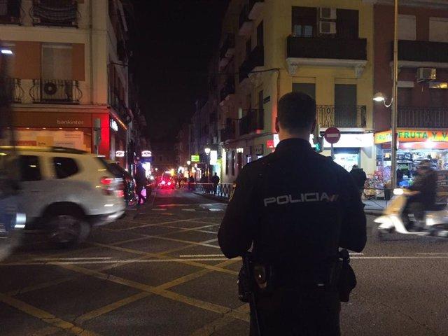 Herido grave al ser apuñalado tras una reyerta en la puerta de un  restaurante chino de Puente de Vallecas