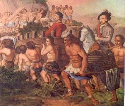 500 años del comienzo de la conquista de México por Hernán Cortés