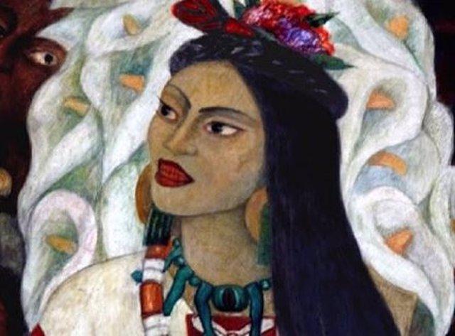 Malinche, la indígena que ayudó a Cortés en la conquista de México