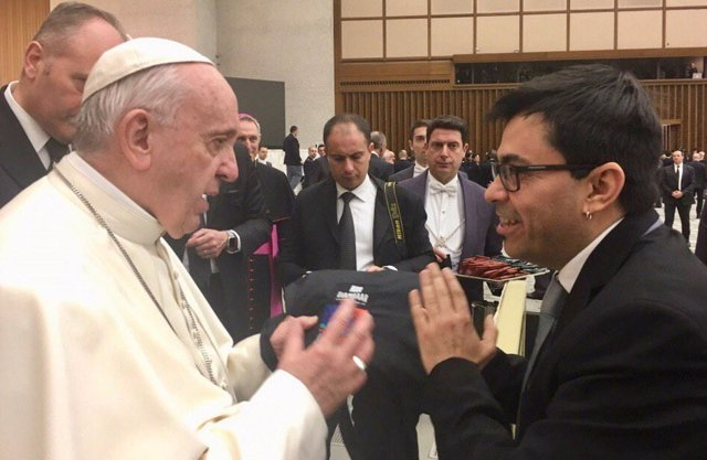 """Pisarello y el Papa urgen a avanzar hacia un mundo """"más justo, sostenible y prós"""
