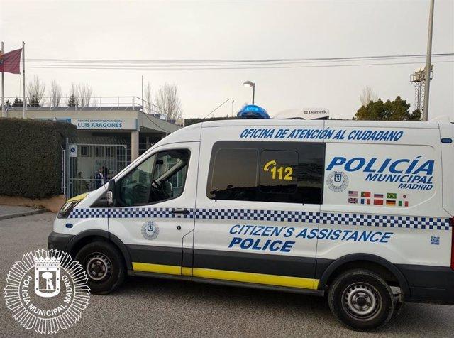 Agentes de Hortaleza denuncian durante un partido de fútbol a varios jugadores d