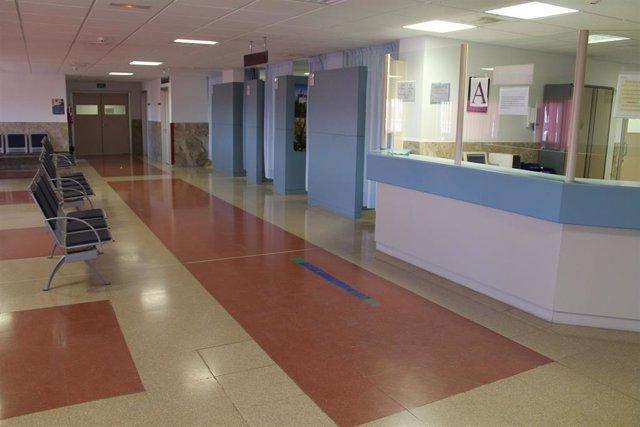 Hospital, Pasillo, Sala de espera, Recepción