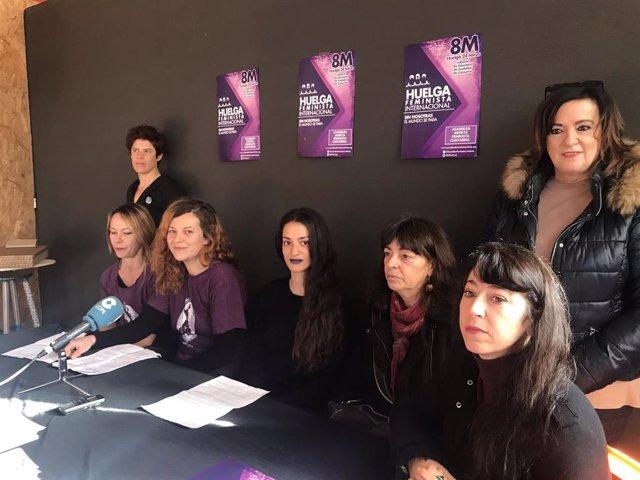 Asamblea Abierta Feminista de Cantabria llama a la huelga el 8M