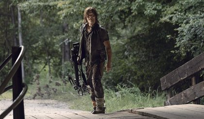 Así modificó Norman Reedus (Daryl) esta escena de The Walking Dead