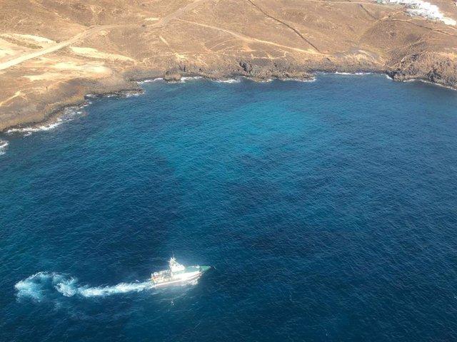 Búsqueda de Romina en la costa de Lanzarote