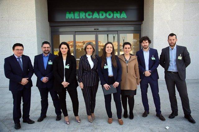 Los tres supermercados de Mercadona en la ciudad de Toledo suman un total de 120