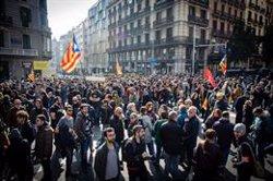 La Generalitat xifra en un 68% el seguiment de l'aturada en el transport públic i les universitats (DAVID ZORRAKINO - EUROPA PRESS)