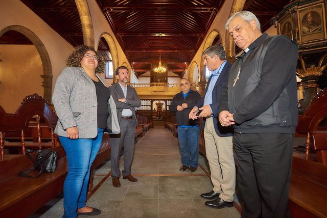 Finaliza la restauración de la iglesia de San Marcos, en Icod (Tenerife), tras u