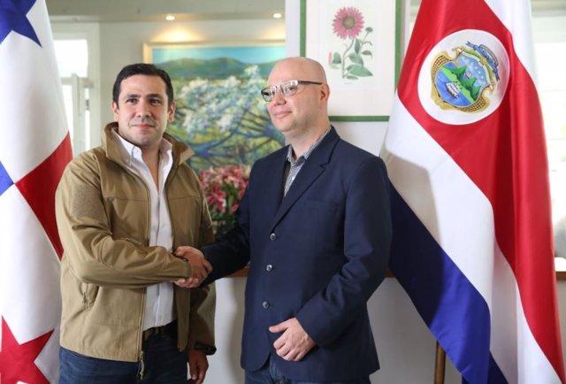 Panamá y Costa Rica pactan una política bilateral para fortalecer su relación