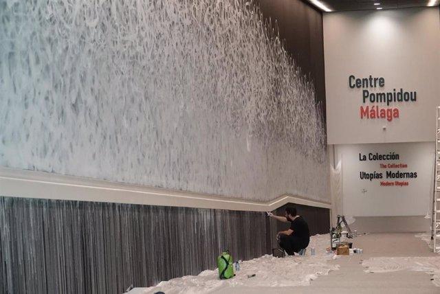 El Ayuntamiento De Málaga Informa: El Centre Pompidou Málaga Descubre La Interve