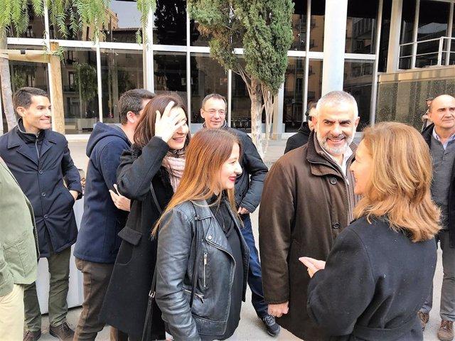 Nacho Martín Blanco, Lorena Roldán, Sonia Sierra Carlos Carrizosa, Carina Mejías