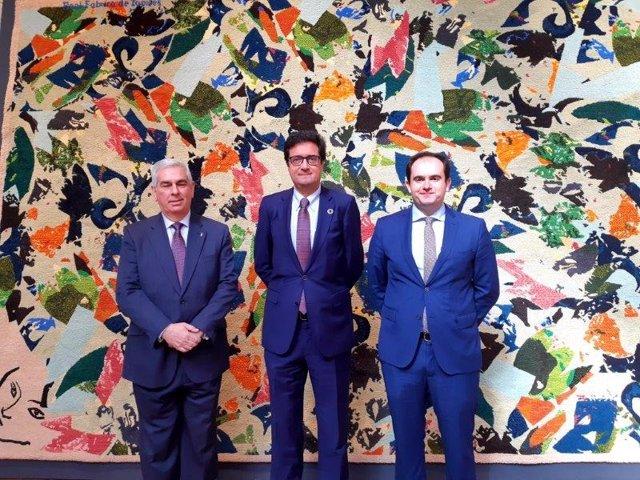 Paradores muestra su colección de tapices en el Palacio Ducal de Lerma.
