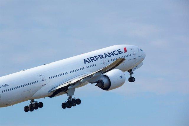 Avión Boeing de Air France