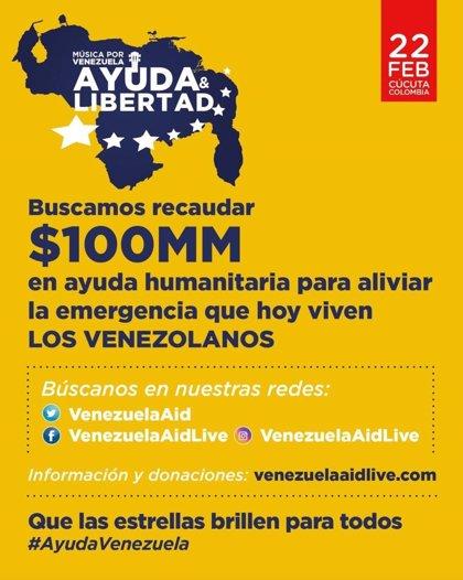 Alejandro Sanz, Juan Luis Guerra, Maná, Maluma, Carlos Vives, Luis Fonsi y Juanes estarán en el 'Venezuela Aid Live'