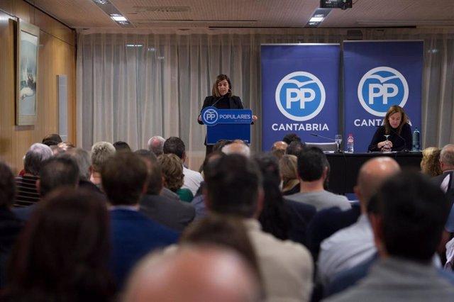 """Sáenz de Buruaga asegura que el PP va a """"ganar todas las elecciones"""""""