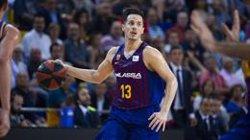 El Barça segueix endollat i deixa tocat el Baskonia (ACB MEDIA - Archivo)