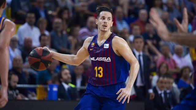 El jugador del Barça Lassa, Heurtel