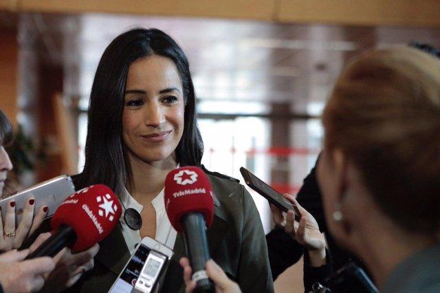 La portavoz de Ciudadanos en el Ayuntamiento de Madrid, Begoña Villacís