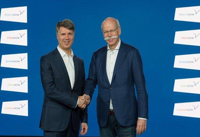 BMW y Daimler crean cinco empresas conjuntas e invierten más de 1.000 millones e