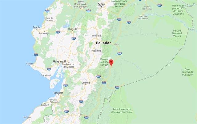 Registrado un terremoto de magnitud 7,5 en la zona este de Ecuador