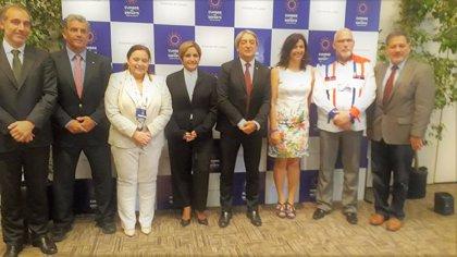 Rienda asiste a la XXV Asamblea del Consejo Iberoamericano del Deporte en Punta del Este