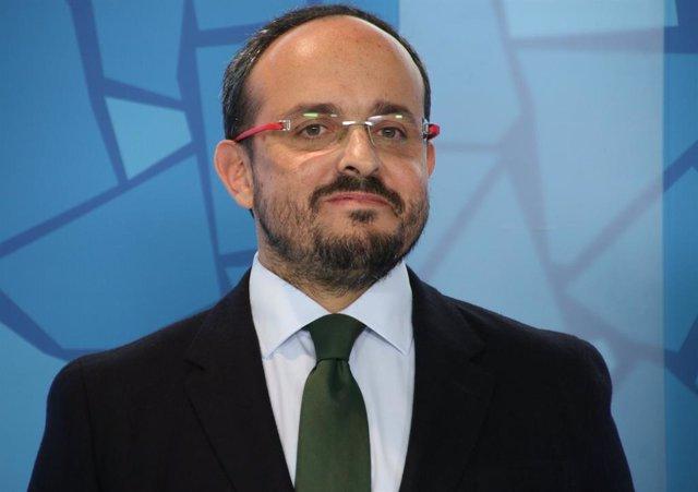 El president del PPC, Alejandro Fernández