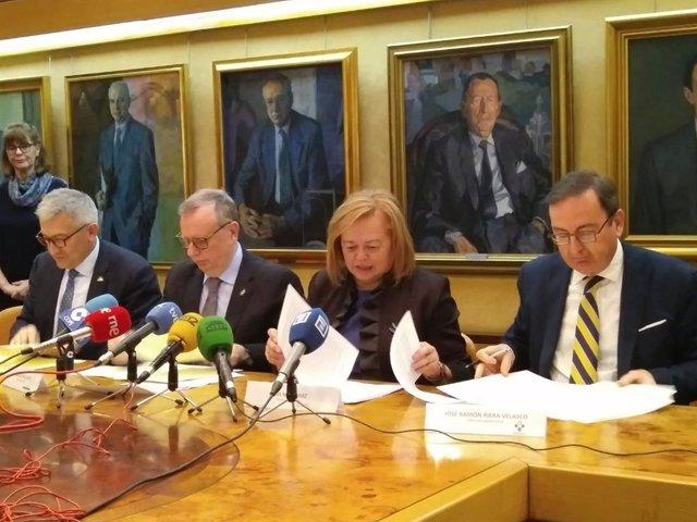"""La presidenta del CSIC defiende a Otín afirmando que se está """"arremetiendo contr"""