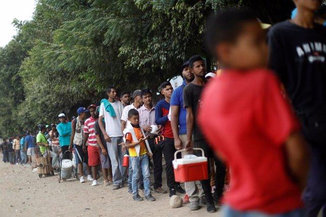 Migrantes venezolanos en Colombia