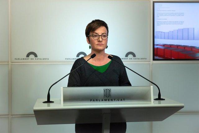 La diputada dels comuns al Parlament Marta Ribas