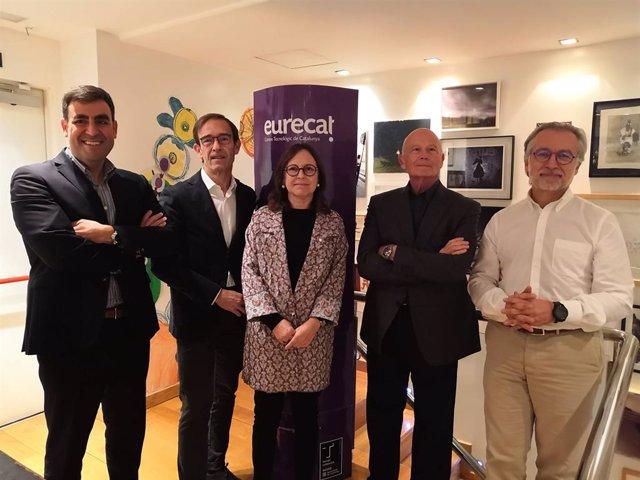 Miquel Rey, Xavier López, Anna Pmies, Jaume Ferrús y Xavier Torra (Eurecat)