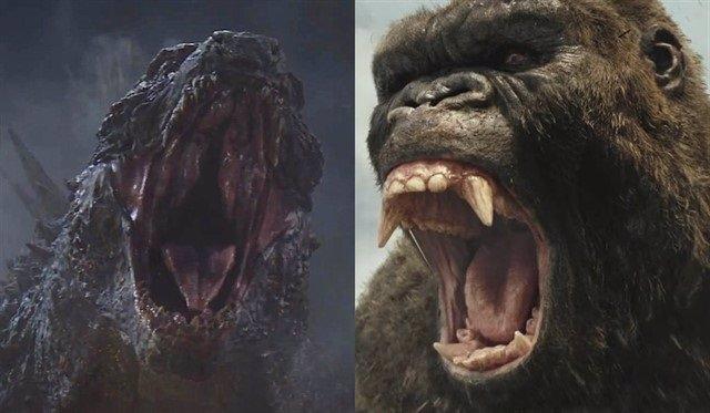Godzilla y King Kong