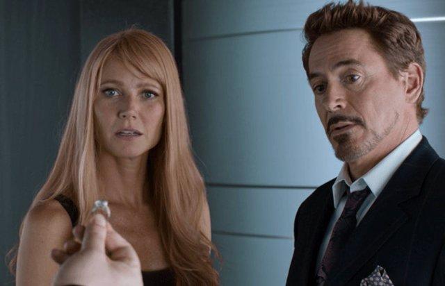 Gwyneth Paltrow y Robert Downey Jr. En Spider-Man: Homecoming