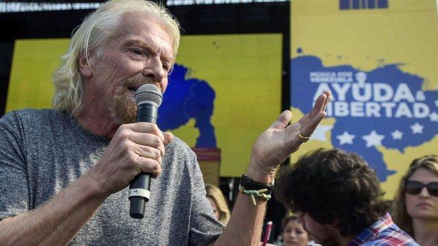 ¿Quién Es Richard Branson, El Organizador Del Megaconcierto 'Venezuela Aid Live'