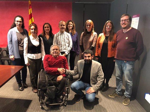 C. El Homrani (Govern) i A.Guillén (Cocarmi) acorden un pla de xoc