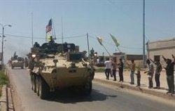 Els EUA mantindran 200 soldats a Síria després de la retirada de les tropes del país (ACTIVISTAS KURDOS - Archivo)
