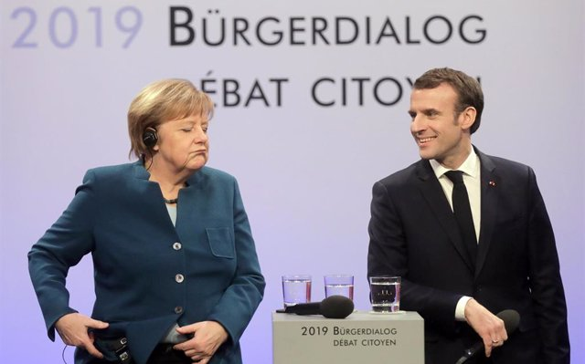 Merkel y Macron vuelven a citarse el 27 de febrero en París