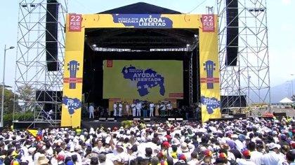 Sigue en vivo el megaconcierto 'Venezuela Aid Live'