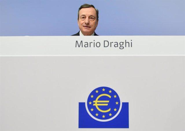 ECB leaves key interest rate unchanged in Frankfurt