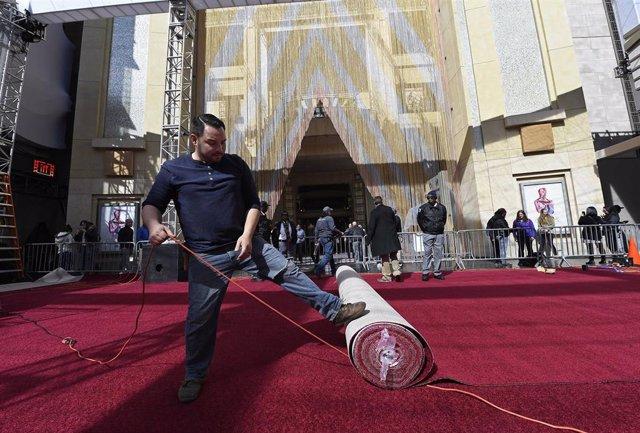 Así se prepara el Teatro Dolby de Los Ángeles para los Oscar 2019