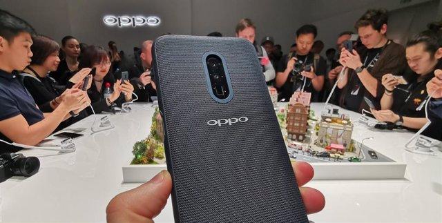 Oppo lanzará un móvil con su 'zoom' de 10 aumentos el segundo trimestre de 2019